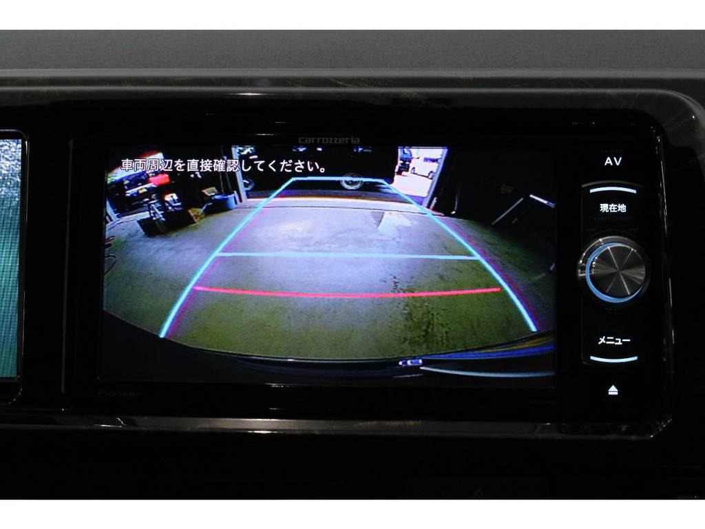 ナヴィゲーションはバックカメラ連動済みです!!!! | トヨタ ハイエース 2.7 GL ロング ミドルルーフ 4WD TSS寒冷地付アレンジAS