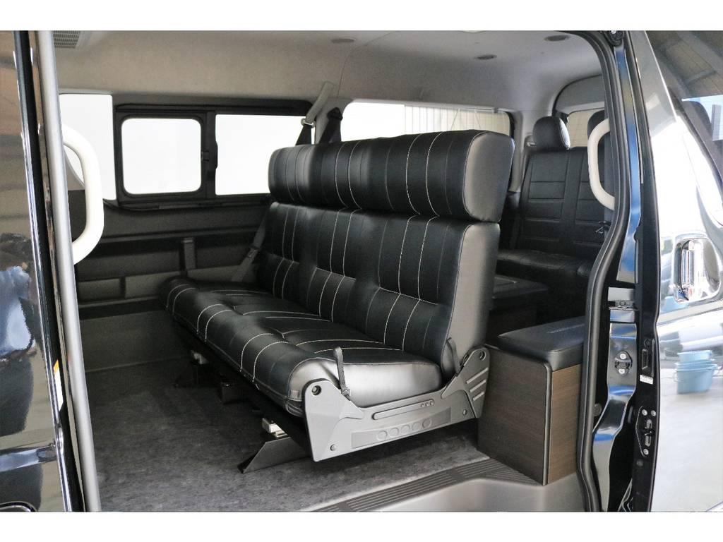ファミリーに最適なオリジナルアレンジASでございます!! | トヨタ ハイエース 2.7 GL ロング ミドルルーフ 4WD TSS寒冷地付アレンジAS