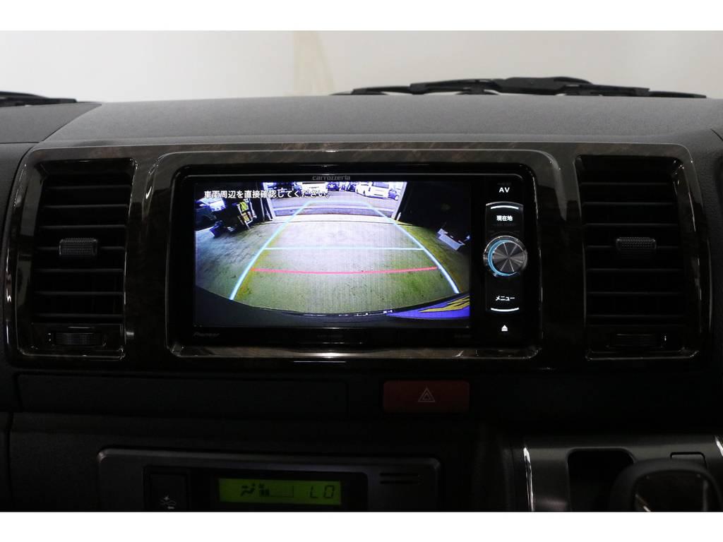 カロッツェリアSDナビ・フルセグTV・Bluetooth接続可能!!! | トヨタ ハイエースバン 2.8 スーパーGL 50TH アニバーサリー リミテッド ロングボディ ディーゼルターボ 4WD