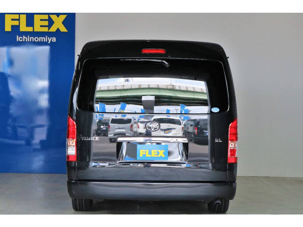 メーカーオプション:寒冷地仕様+バックフォグ付き!!!! | トヨタ ハイエース 2.7 GL ロング ミドルルーフ 4WD R1