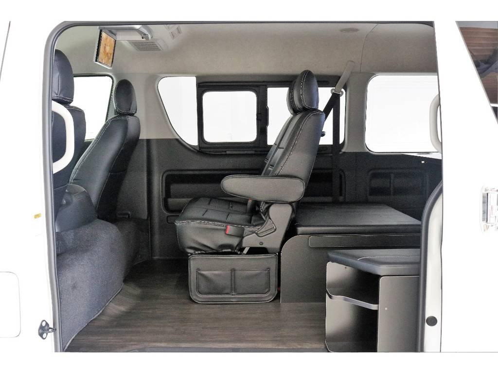 新車ワゴンGL4WDベースでファミリーに最適な内装架装! | トヨタ ハイエース 2.7 GL ロング ミドルルーフ 4WD TSS付