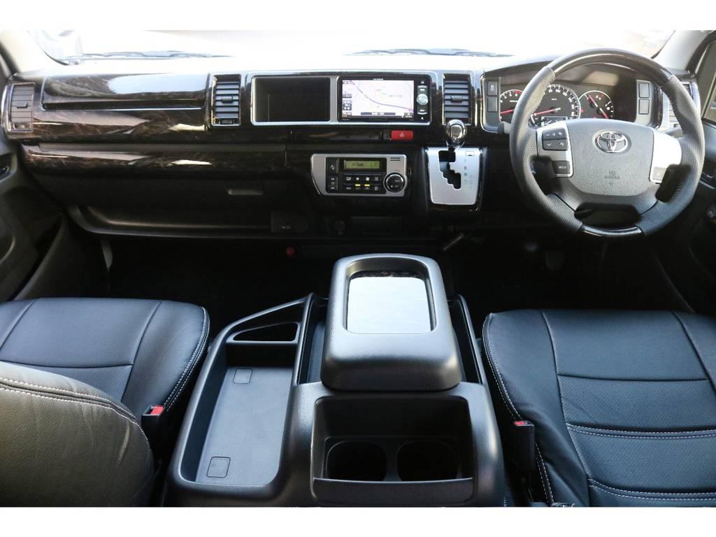 マホガニコンビハンドル&パネルSet&シフトノブ | トヨタ ハイエース 2.7 GL ロング ミドルルーフ 4WD TSS付