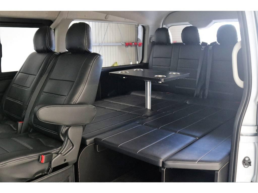 リアマットバージョンです!!! | トヨタ ハイエース 2.7 GL ロング ミドルルーフ 4WD TSS付