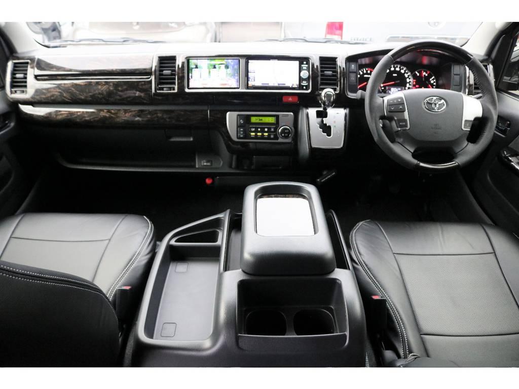 新型TSSP付き ハイエースワゴンGL シートアレンジVer1テーブル付きが入荷しました! | トヨタ ハイエース 2.7 GL ロング ミドルルーフ 4WD TSS付