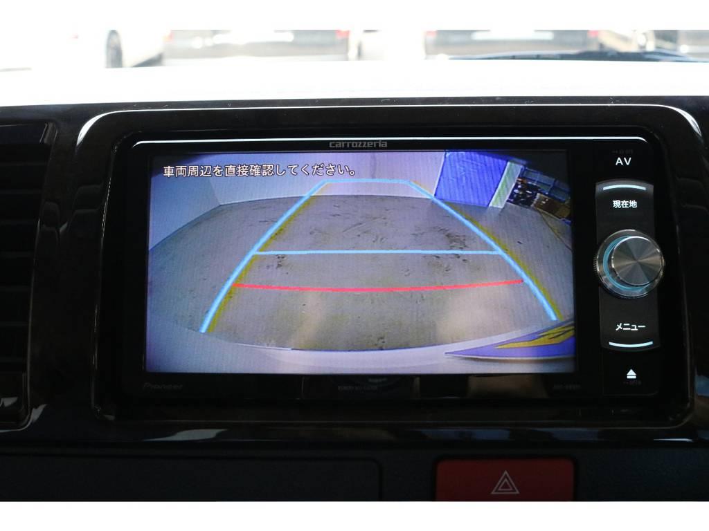 バックカメラ連動済み!!!! | トヨタ ハイエースバン 2.0 スーパーGL ダークプライム ロングボディ PS無