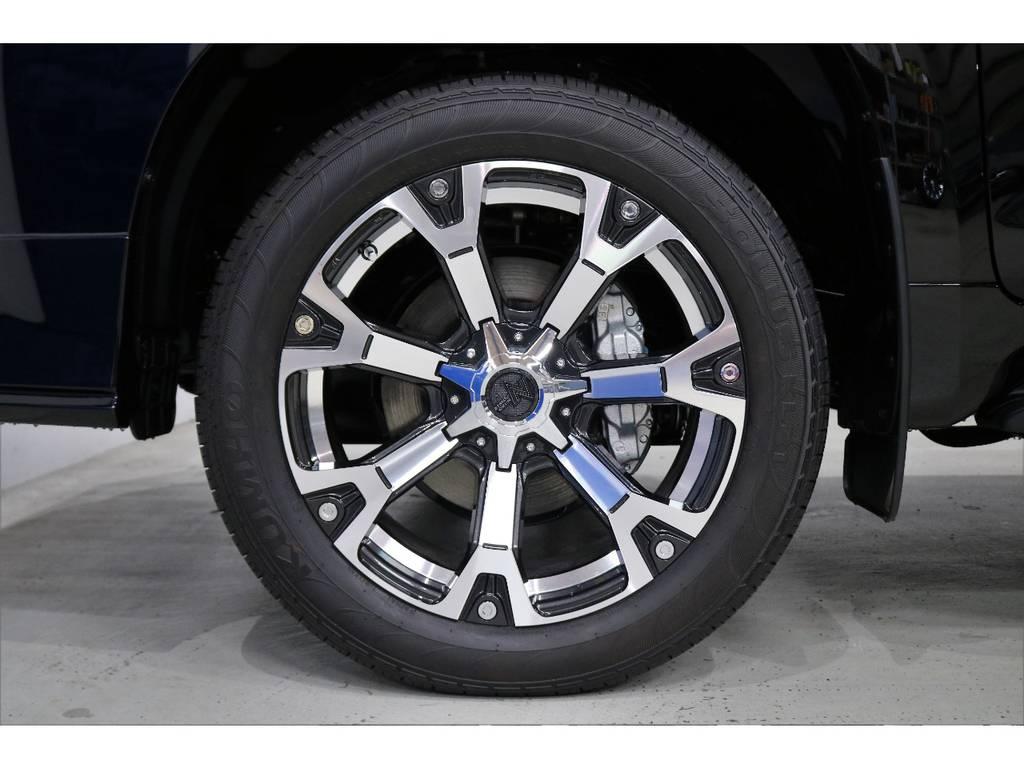 オリジナルカラーウォーヘッド20インチアルミホイール! | トヨタ ランドクルーザープラド 2.7 TX Lパッケージ 4WD 7人