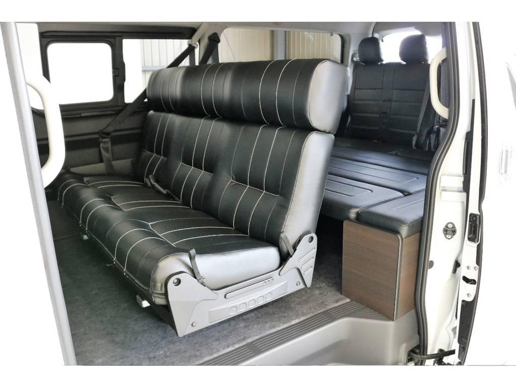 オリジナル内装架装 アレンジAS!! | トヨタ ハイエース 2.7 GL ロング ミドルルーフ TSS付アレンジAS