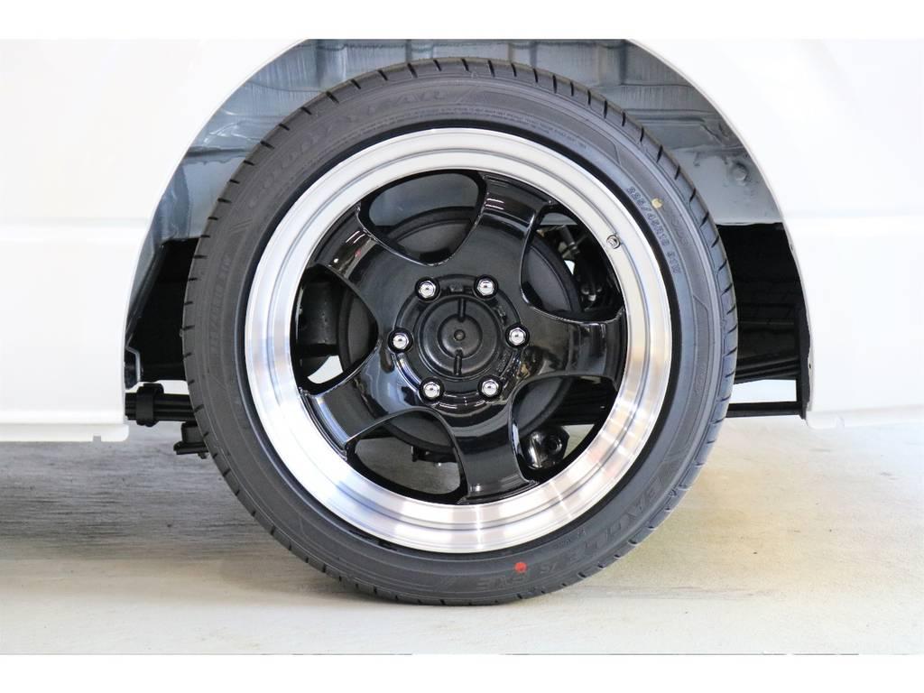WORK製 エクストラップシリーズ S1HCでございます!!!!!! | トヨタ ハイエースバン 2.8 スーパーGL 50TH アニバーサリー リミテッド ロングボディ ディーゼルターボ 床張りベット