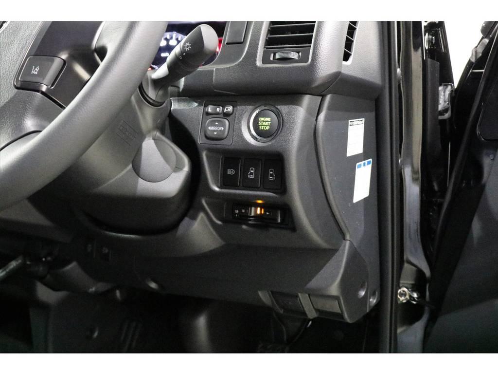 メーカーオプション・スマートキー&プッシュスタート装備!!! | トヨタ ハイエースバン 2.8 スーパーGL 50TH アニバーサリー リミテッド ロングボディ ディーゼルターボ 4WD 50TH