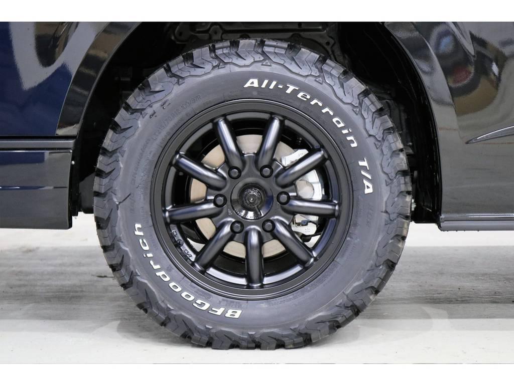 MC-9 16インチアルミホイール 装着済み!! | トヨタ ハイエースバン 2.8 スーパーGL 50TH アニバーサリー リミテッド ロングボディ ディーゼルターボ 4WD 50TH