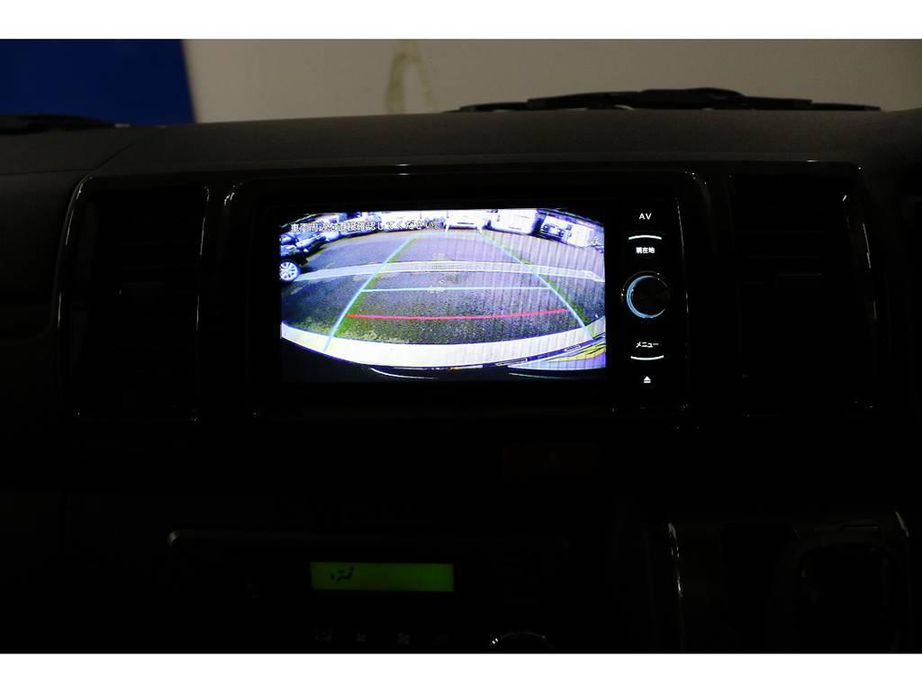 バックカメラ装着済みなので後方も安心!!!! | トヨタ ハイエースバン 2.8 スーパーGL 50TH アニバーサリー リミテッド ロングボディ ディーゼルターボ 4WD 50TH