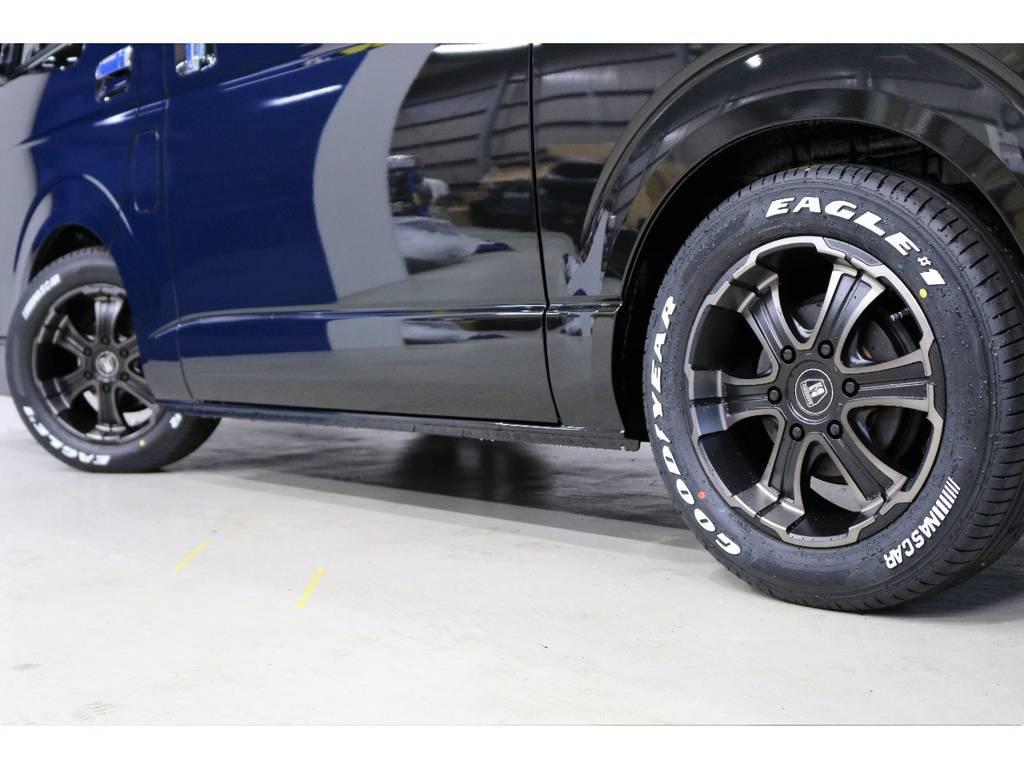 2年間のタイヤ保証付もいております!!!! | トヨタ ハイエースバン 2.8 スーパーGL ダークプライムⅡ ロングボディ ディーゼルターボ PS無