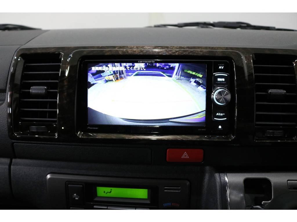 バックカメラ装着済みなので後方も安心!!!! | トヨタ ハイエースバン 2.8 スーパーGL ダークプライムⅡ ロングボディ ディーゼルターボ PS無