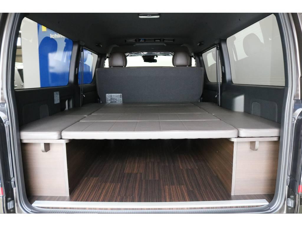 アウトドアや車中泊にもってこいなオリジナルアレンジVer.4 | トヨタ ハイエースバン 2.7 スーパーGL 50THアニバーサリー リミテッド ワイド ミドルルーフ ロングボディ4WD 50TH 4X7