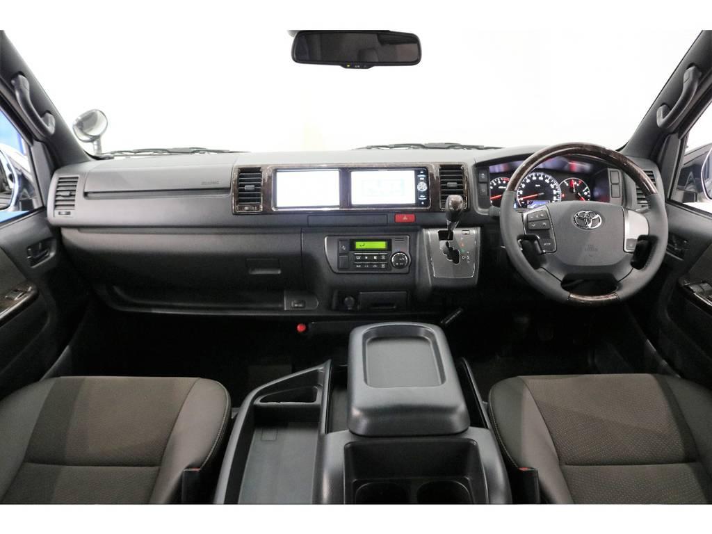 メーカーオプション:バックモニター内蔵自動防眩ミラー・助手席エアバック・AC100V | トヨタ ハイエースバン 2.7 スーパーGL 50THアニバーサリー リミテッド ワイド ミドルルーフ ロングボディ4WD 50TH 4X7