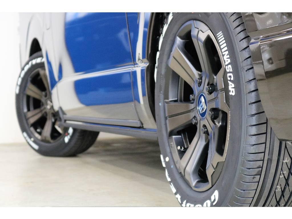 Goodyear EAGLE1 NASCARタイヤ装着済み!!!!! | トヨタ ハイエースバン 2.7 スーパーGL 50THアニバーサリー リミテッド ワイド ミドルルーフ ロングボディ4WD 50TH 4X7