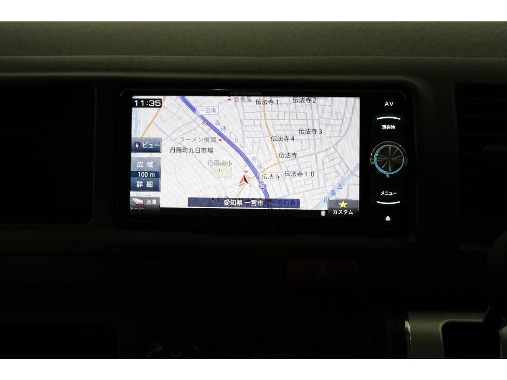 カロッツェリアSDナビ・フルセグTV・Bluetooth接続可能!!!   トヨタ ハイエースバン 2.8 DX ワイド スーパーロング ハイルーフ GLパッケージ ディーゼルターボ 4WD TSST付Wエアコン