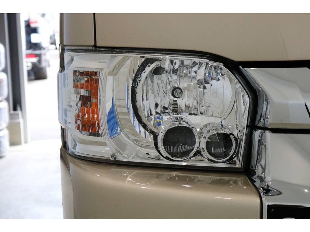 メーカーオプション:LEDヘッドライトぉぉぉぉぉ!!   トヨタ ハイエースバン 2.8 DX ワイド スーパーロング ハイルーフ GLパッケージ ディーゼルターボ 4WD TSST付Wエアコン