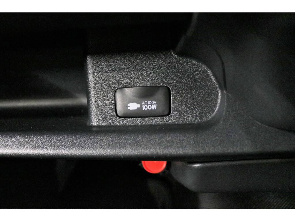 メーカーオプション:AC100Vコンセント | トヨタ ハイエース 2.7 GL ロング ミドルルーフ CoastLines