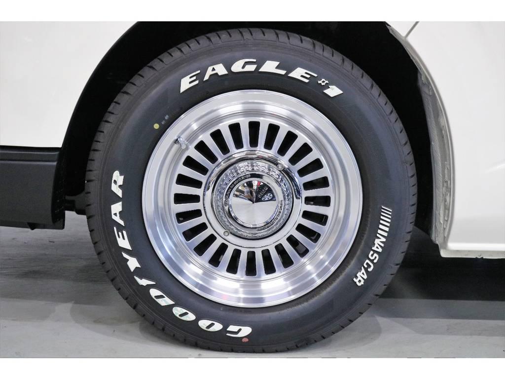 DEAN カルフォルニア 16インチアルミホイール | トヨタ ハイエース 2.7 GL ロング ミドルルーフ CoastLines