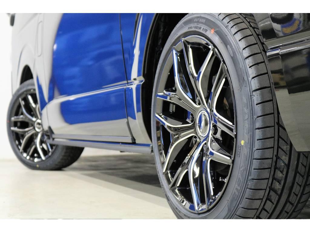 もちろん国産タイヤを使用しております。   トヨタ ハイエース 2.7 GL ロング ミドルルーフ 4WD R1