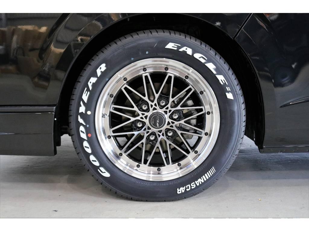 WORK XTRAPアルミホイール装着!! | トヨタ ハイエースバン 2.8 スーパーGL 50TH アニバーサリー リミテッド ロングボディ ディーゼルターボ