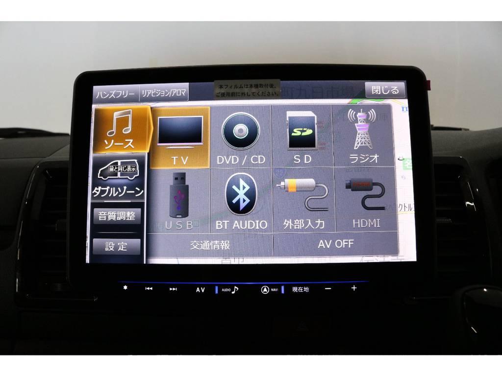 アルパイン製11ナビ装着済み!! | トヨタ ハイエースバン 2.8 スーパーGL 50TH アニバーサリー リミテッド ロングボディ ディーゼルターボ
