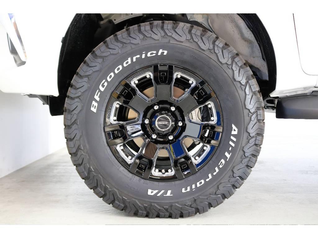 RAYS FDX-F7S17インチアルミホイールをインソール!!!!!!!!!! | トヨタ ハイラックス 2.4 Z ディーゼルターボ 4WD Z