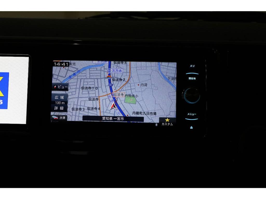カロッツェリアSDナビ・フルセグTV・Bluetooth接続可能!!! | トヨタ ハイエース 2.7 GL ロング ミドルルーフ 4WD 床張り