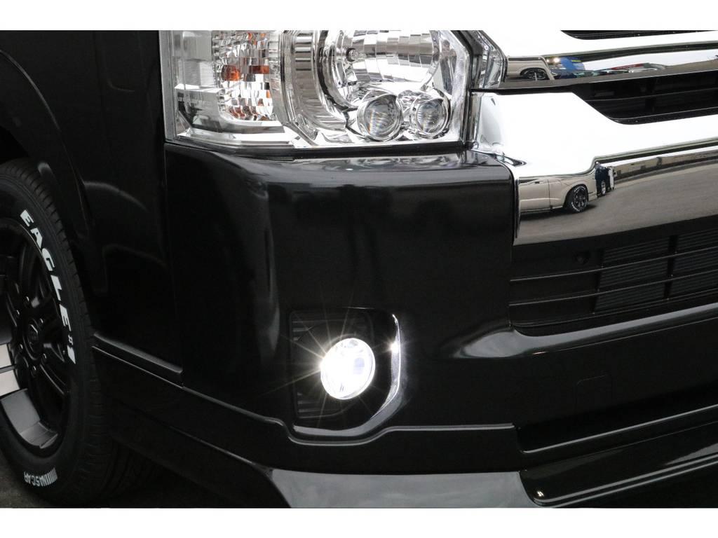 FLEXオリジナルアルティメットFOG!!!!!!!そこら辺のそこそこのやつ付けるくらいならこれ!!!!!!! | トヨタ ハイエース 2.7 GL ロング ミドルルーフ 4WD 床張り