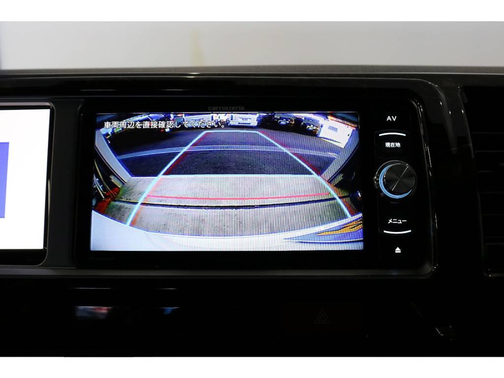バックカメラ装着済みなので後方も安心!!!! | トヨタ ハイエース 2.7 GL ロング ミドルルーフ 4WD スタンダードPKG