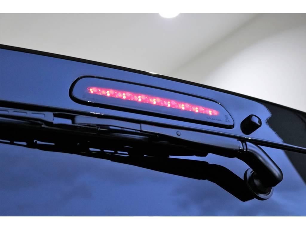 バレンティのLEDハイマウント!!!!!!! | トヨタ ハイエースバン 2.8 スーパーGL ダークプライムⅡ ロングボディ ディーゼルターボ 4WD