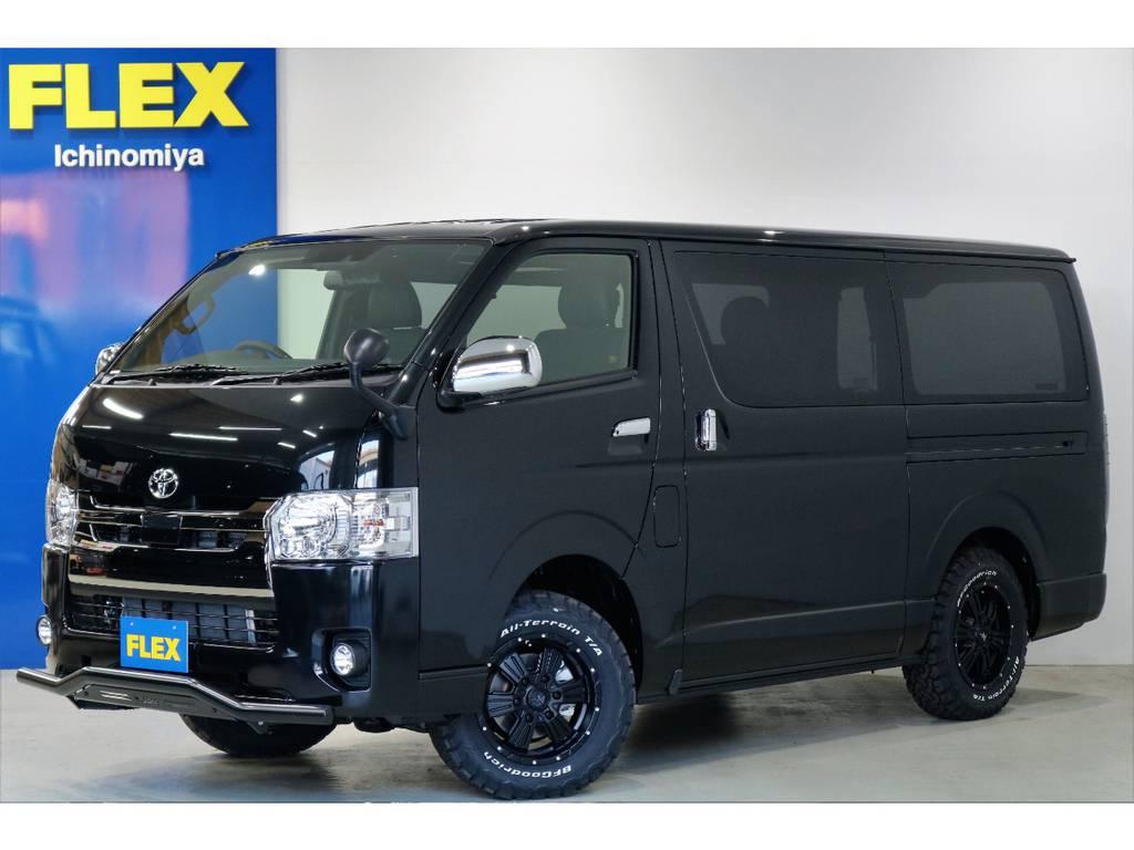 新車ハイエースV・ダークプライムⅡ・ディーゼル4WDが入庫いたしました。
