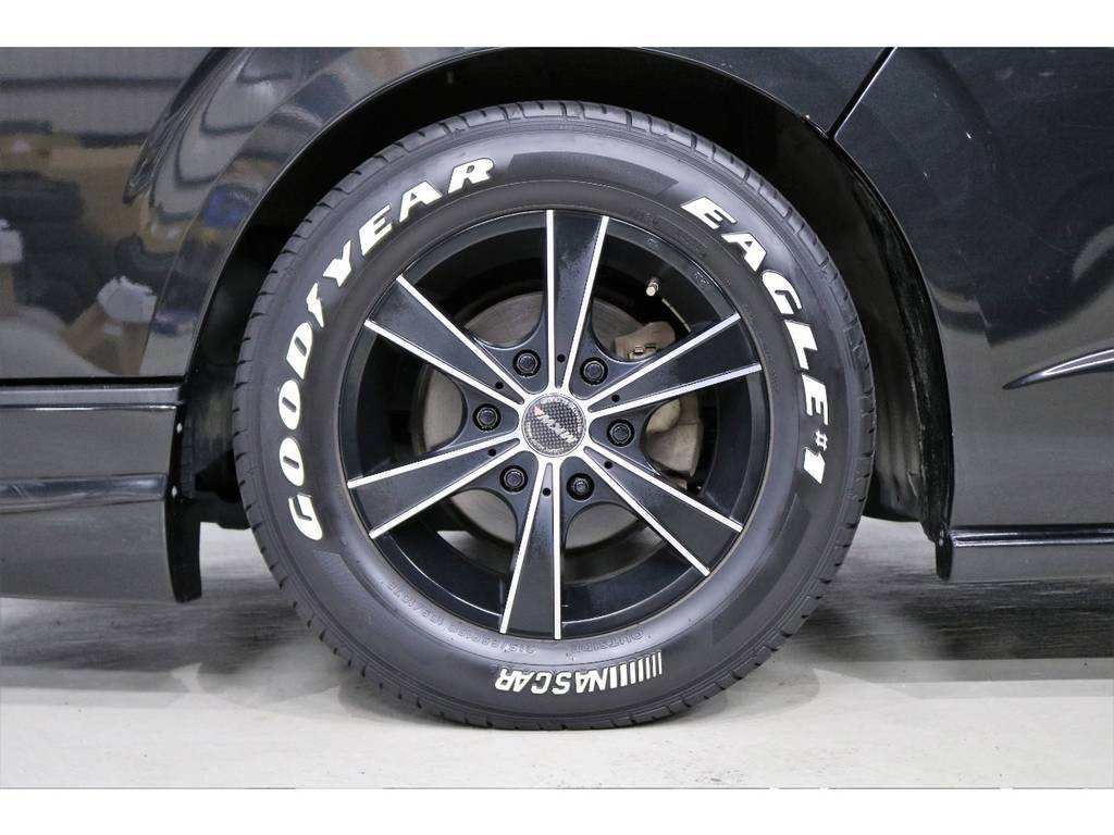 MKW16インチアルミホイール装着済!! | トヨタ ハイエースバン 3.0 スーパーGL ロング ディーゼルターボ