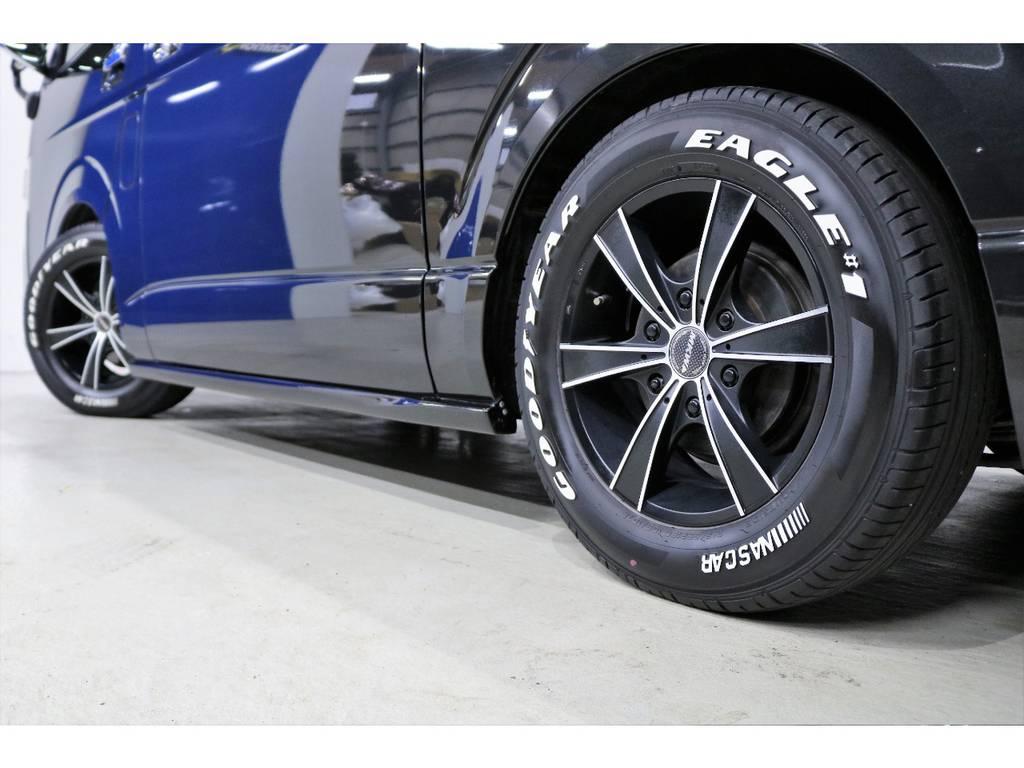 2年間のタイヤ保証付もいております!!!! | トヨタ ハイエースバン 3.0 スーパーGL ロング ディーゼルターボ