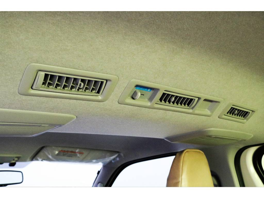 リアエアコンは標準で装備されています!!! | トヨタ ハイエースバン 2.0 DX ロング お洒落なハイエースV