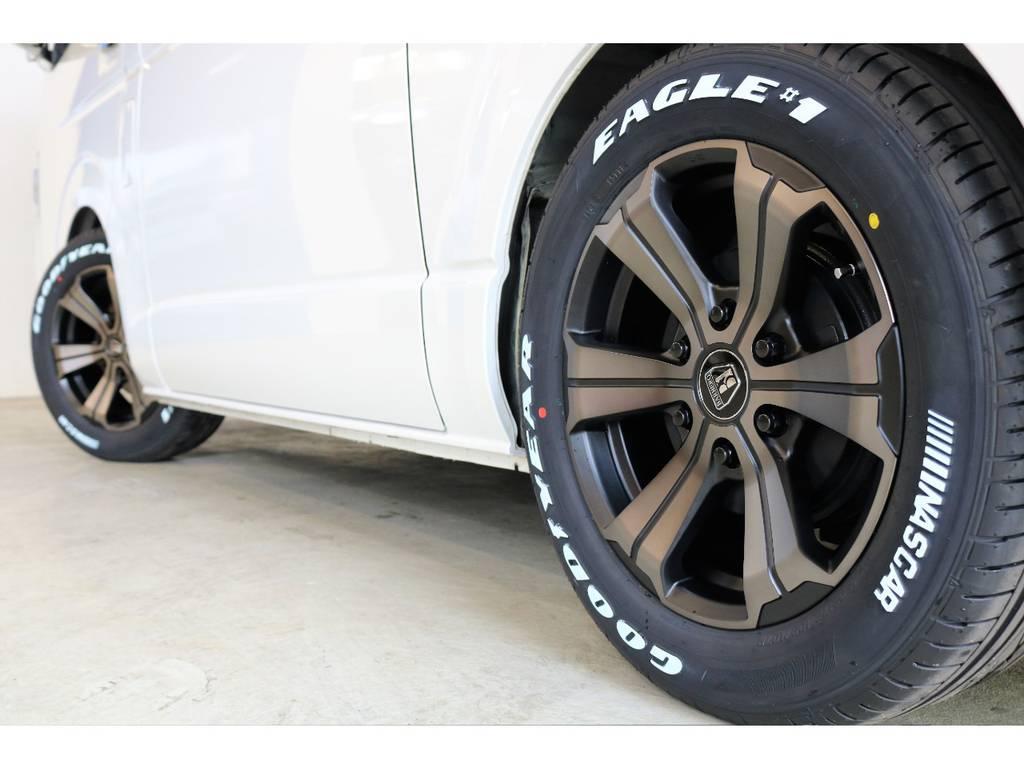FLEXオリジナルカラー クリムソンバルベロ17インチ+ナスカータイヤ♪ | トヨタ ハイエース 2.7 GL ロング ミドルルーフ