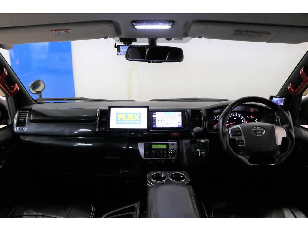 メーカオプションもたっぷりです。パワースライドドア・プッシュスタート・LEDヘッドライトなどなど!!! | トヨタ ハイエース 2.7 GL ロング ミドルルーフ