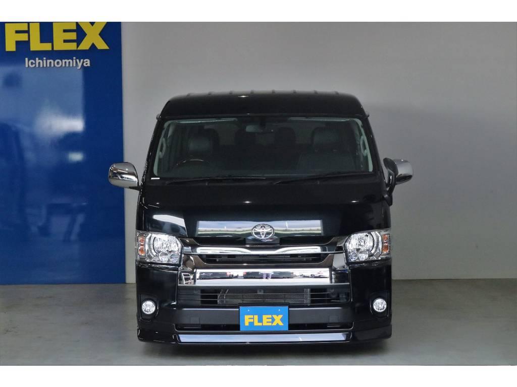 メーカーオプション多数!!!!!!LEDヘッドライト・パワースライドドア・プッシュスタートは装備してあります。 | トヨタ ハイエース 2.7 GL ロング ミドルルーフ オリジナル内装R2