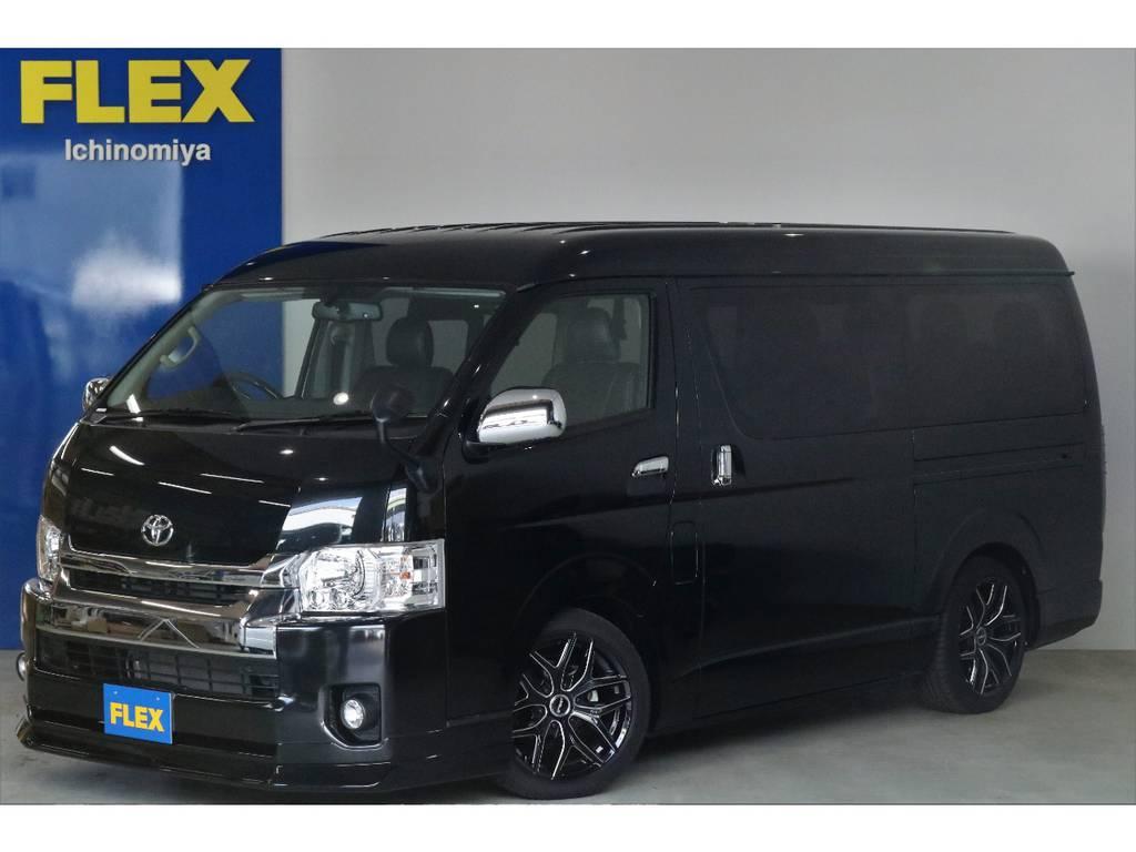 新車ハイエースワゴンGL・【アレンジR2】が入荷いたしました!!!!