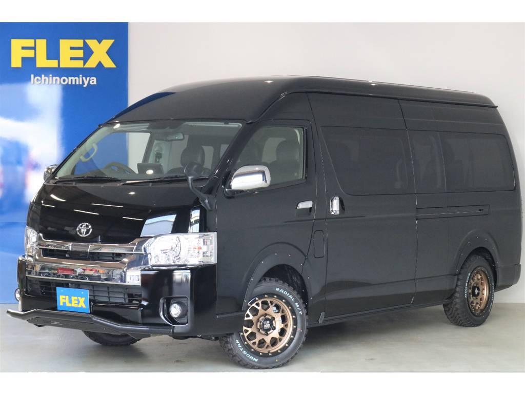 新車グランドキャビン・ガソリン4WD・ワイルドカスタムパッケージが入荷いたしました!!