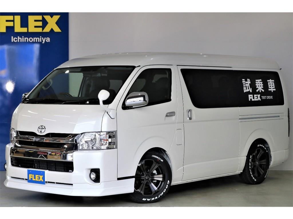 新車ハイエースワゴンGL・内装架装Vre2・ダブルナビ&ドラレコパッケージが入荷いたしました!!!!