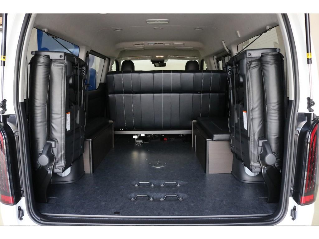 トヨタハイエースワゴン2.7GLロング ミドルルーフ 4WDパーキングサポート愛知県の詳細画像その7