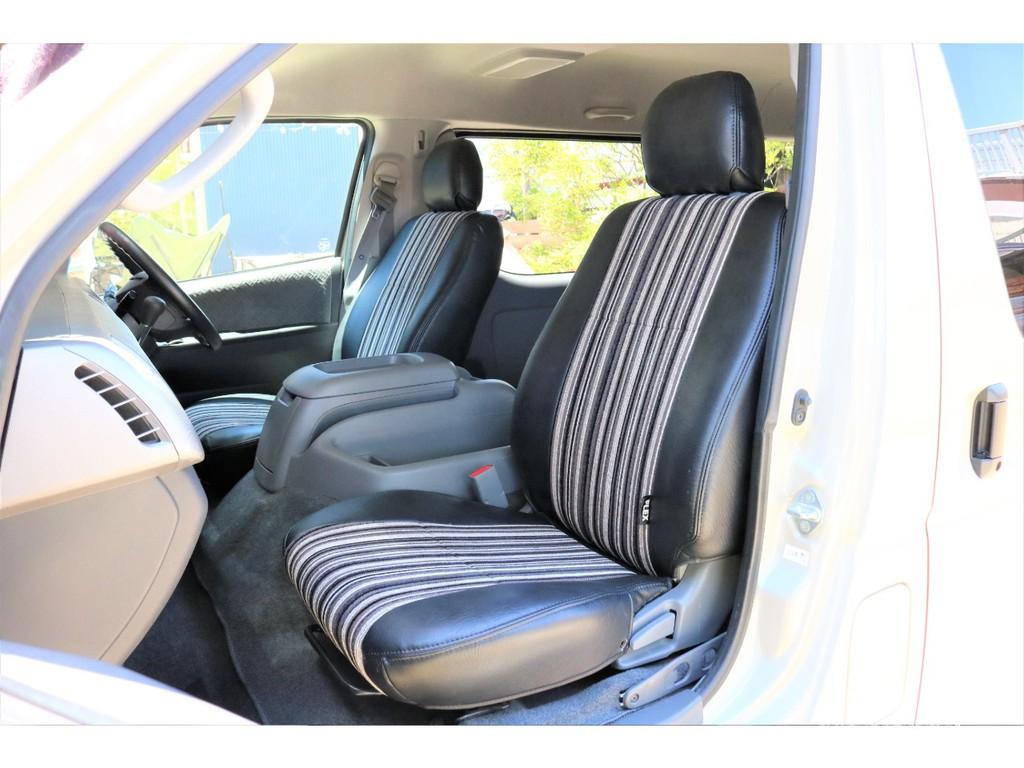 新品シートカバーを全席装着しております