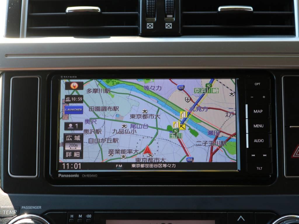 新品Panasonic製ナビCN-RE04WD装備 | トヨタ ランドクルーザープラド 2.8 TX Lパッケージ Gフロンティア ディーゼルターボ 4WD 試乗車 カスタム多