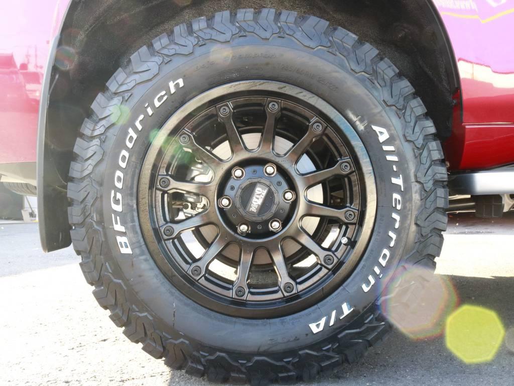 BFグッドリッチATタイヤ 285/65R18【新品】 | トヨタ ランドクルーザープラド 2.8 TX Lパッケージ Gフロンティア ディーゼルターボ 4WD 試乗車 カスタム多