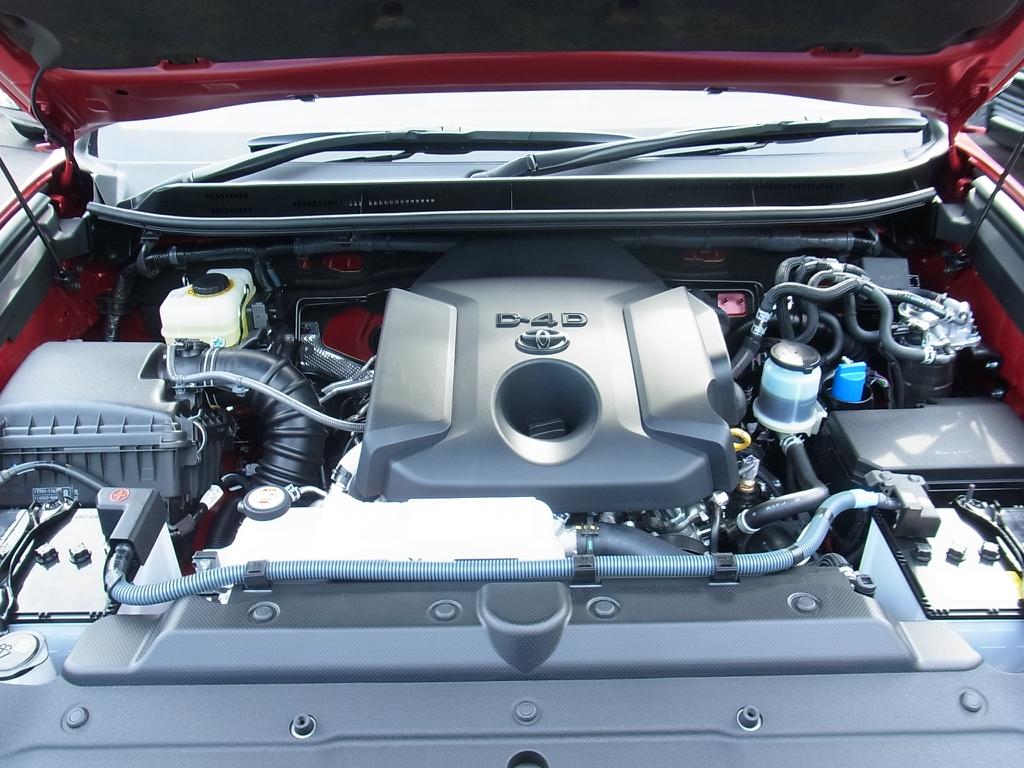 耐久性のあるクリーンディーゼルのターボエンジン! | トヨタ ランドクルーザープラド 2.8 TX Lパッケージ Gフロンティア ディーゼルターボ 4WD 試乗車 カスタム多