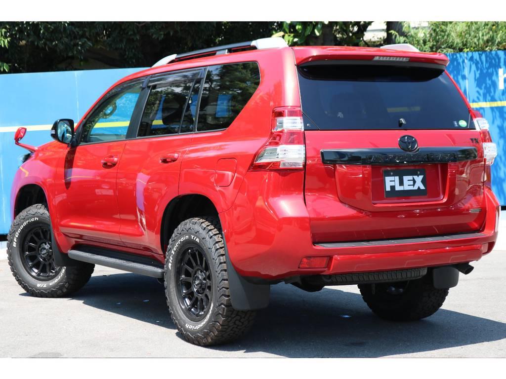 | トヨタ ランドクルーザープラド 2.8 TX Lパッケージ Gフロンティア ディーゼルターボ 4WD 試乗車 カスタム多