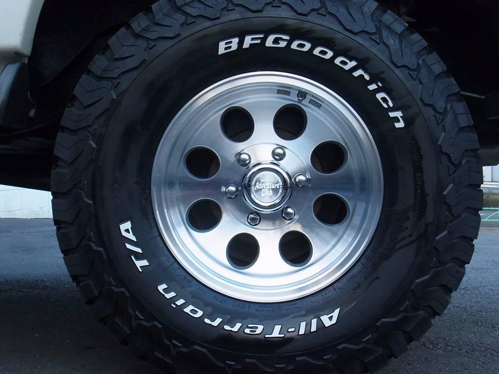 BFGoodrich KO2タイヤ新品×ジムラインAW新品 | トヨタ ランドクルーザー80 4.5 VXリミテッド 4WD