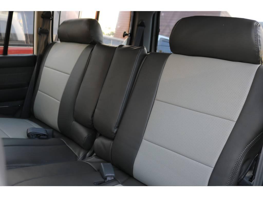 フィッティングも抜群のシートカバー | トヨタ ランドクルーザー80 4.5 VXリミテッド 4WD